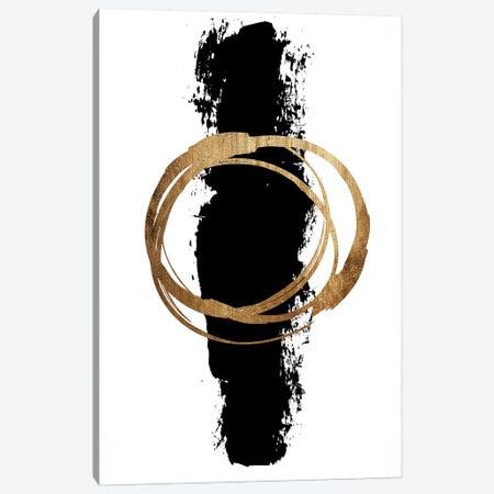 Circle And Line Canvas Print #KUB134} by Kubistika Canvas Artwork