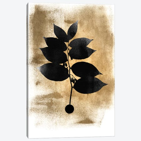 Dark Plant Canvas Print #KUB147} by Kubistika Canvas Art Print