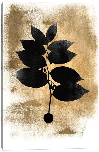 Dark Plant Canvas Art Print