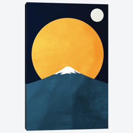 Himalaya At Night Canvas Print #KUB167} by Kubistika Canvas Print