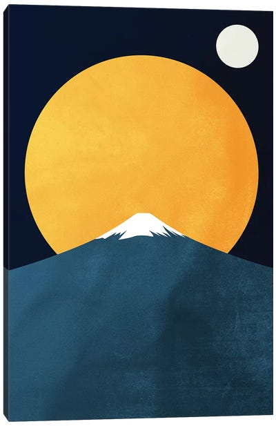 Himalaya At Night Canvas Art Print