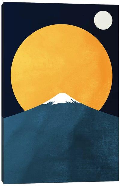 Himalaya At Night Canvas Art Print