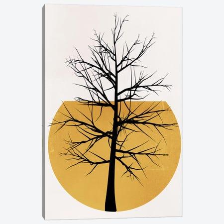 In The Wild - Yellow Canvas Print #KUB171} by Kubistika Canvas Print