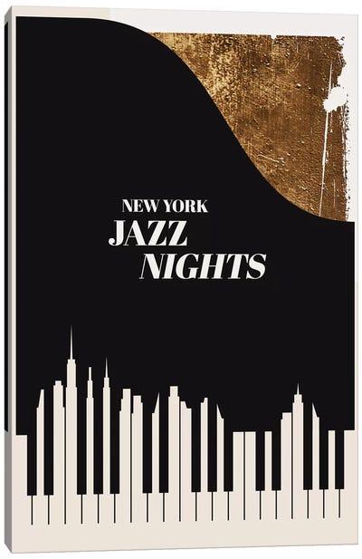 Jazz Nights Canvas Art Print