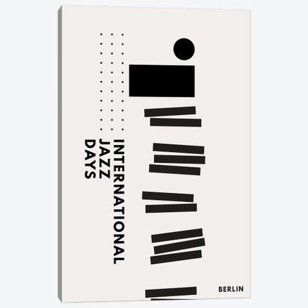 Jazzy Days Berlin II Canvas Print #KUB178} by Kubistika Canvas Print