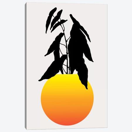 Kamasutra - Yellow Canvas Print #KUB181} by Kubistika Canvas Artwork