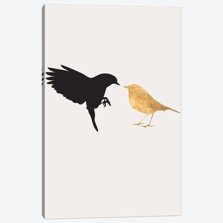 Lovebirds Canvas Print #KUB187} by Kubistika Canvas Art Print