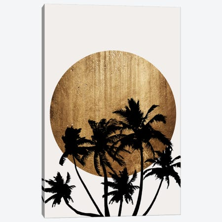 Miami Beach Canvas Print #KUB190} by Kubistika Canvas Print
