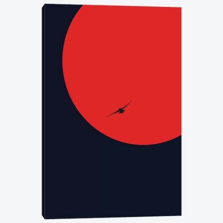Nightcrawler Canvas Print #KUB202} by Kubistika Canvas Print