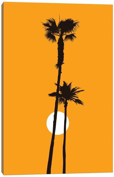 Paradise - Yellow Canvas Art Print