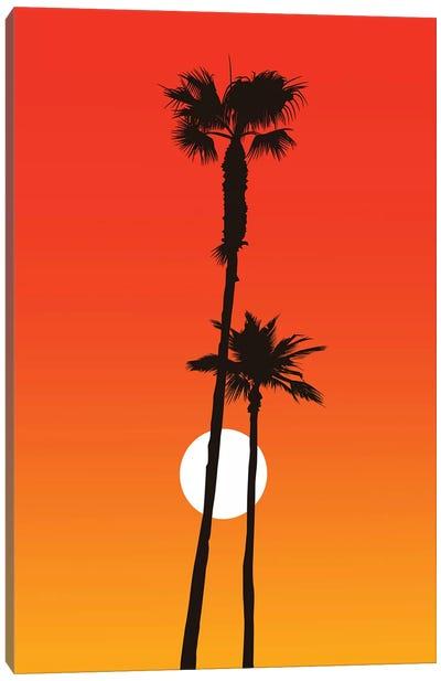 Paradiso - Orange Canvas Art Print