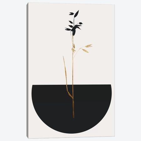 Planta Negra Canvas Print #KUB209} by Kubistika Art Print
