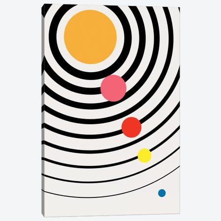 Playful Universe Canvas Print #KUB210} by Kubistika Canvas Wall Art