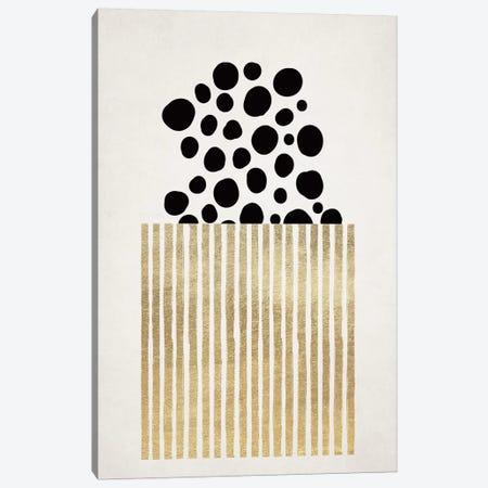 Popcorn Canvas Print #KUB211} by Kubistika Canvas Wall Art