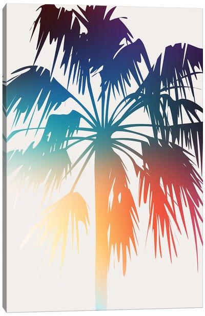 Prideful Palm Canvas Art Print