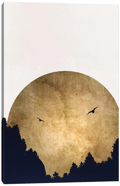 Two Birds Canvas Art Print