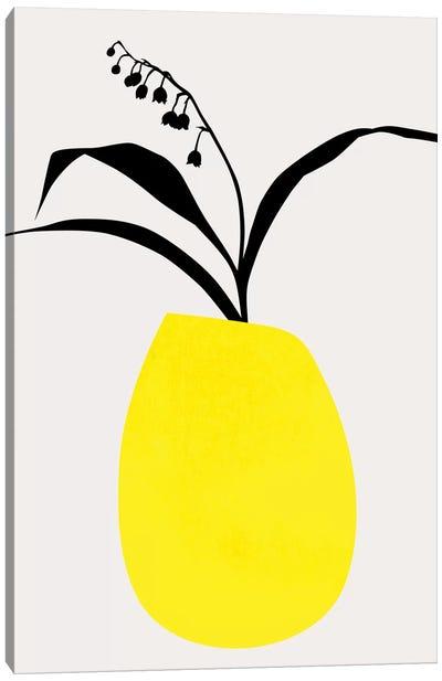 Water Lilies - Yellow Canvas Art Print