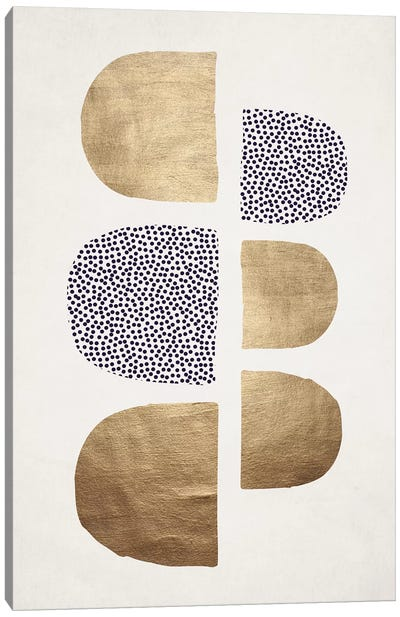 Geometric Abstracta Canvas Art Print