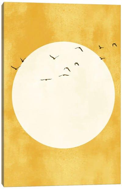 Golden Sunshine Canvas Art Print