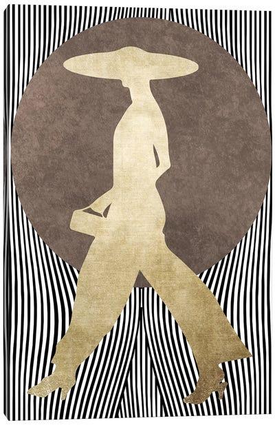 La Madame Noir Canvas Art Print