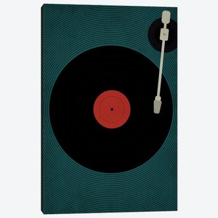 Let The Music Play Canvas Print #KUB41} by Kubistika Canvas Art Print