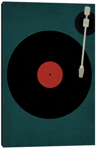 Let The Music Play Canvas Art Print