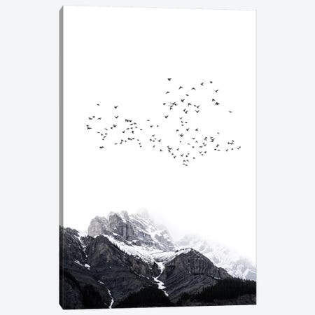 The Mountain Canvas Print #KUB79} by Kubistika Canvas Wall Art