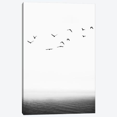 The Seaside Canvas Print #KUB82} by Kubistika Canvas Art Print