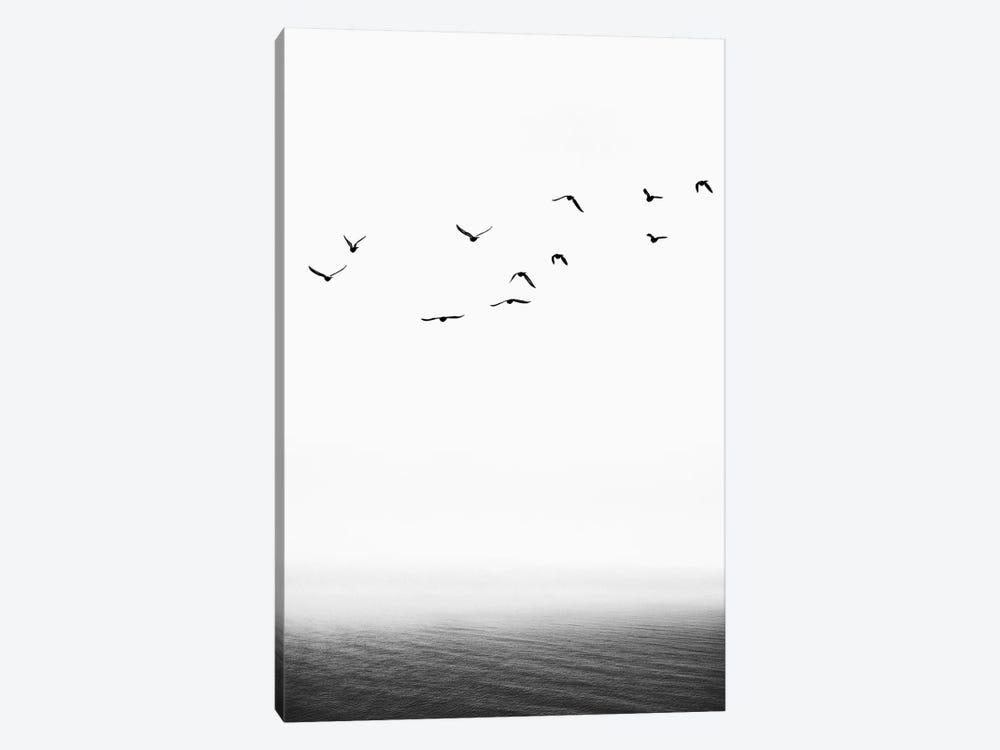 The Seaside by Kubistika 1-piece Canvas Art Print