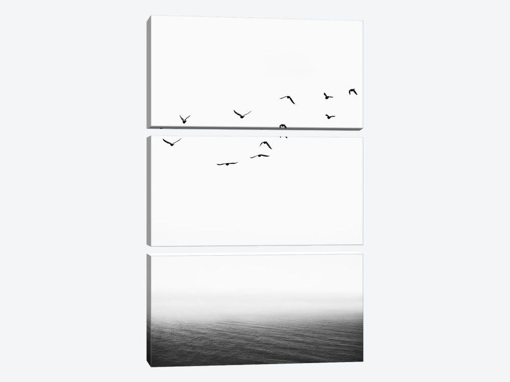 The Seaside by Kubistika 3-piece Art Print