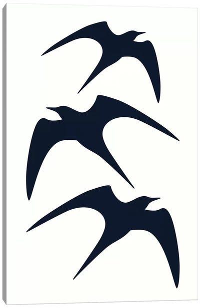 Three Birds Canvas Art Print
