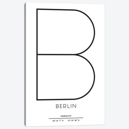 Berlin Canvas Print #KUB8} by Kubistika Canvas Art Print