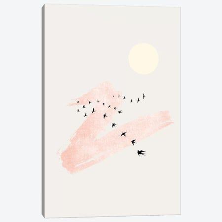 Sun And Heaven Canvas Print #KUB99} by Kubistika Canvas Artwork