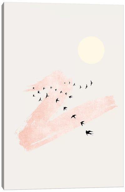 Sun And Heaven Canvas Art Print