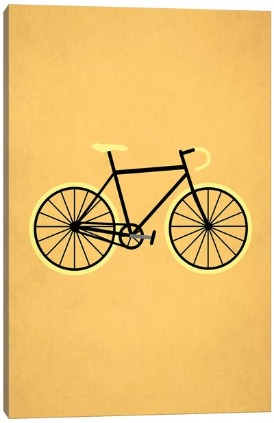 Bicycle Love Canvas Art Print
