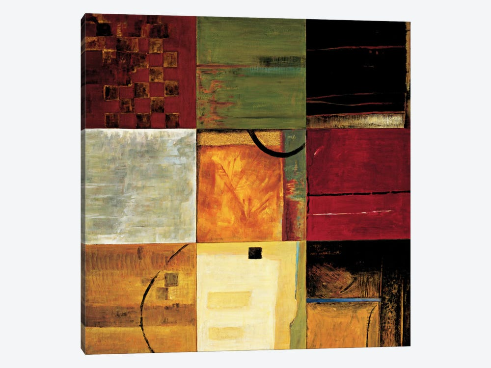 Compartments II by Kurt Morrison 1-piece Canvas Wall Art