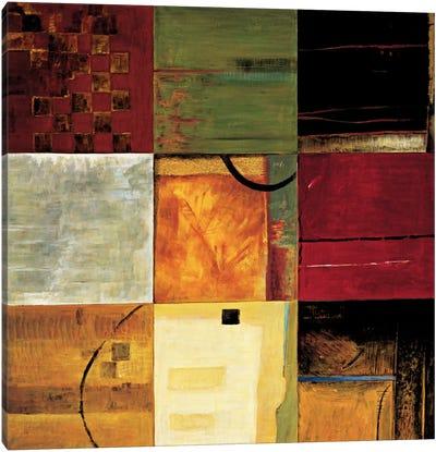 Compartments II Canvas Art Print