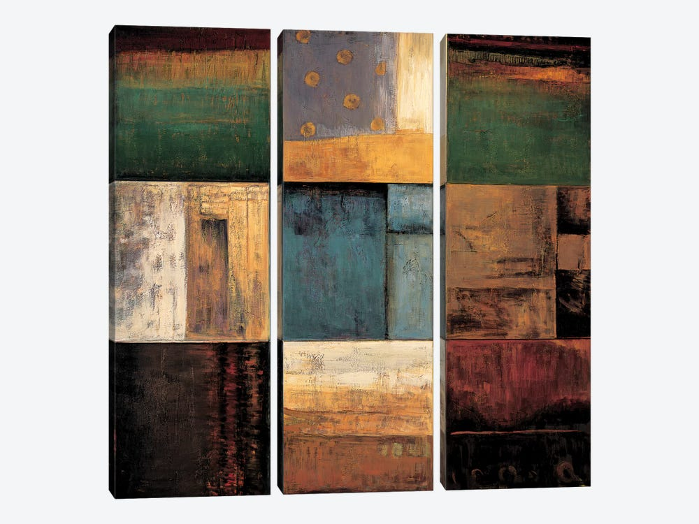Diversified I by Kurt Morrison 3-piece Art Print