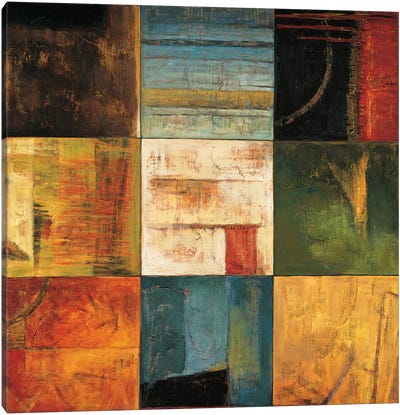 Diversified II Canvas Art Print