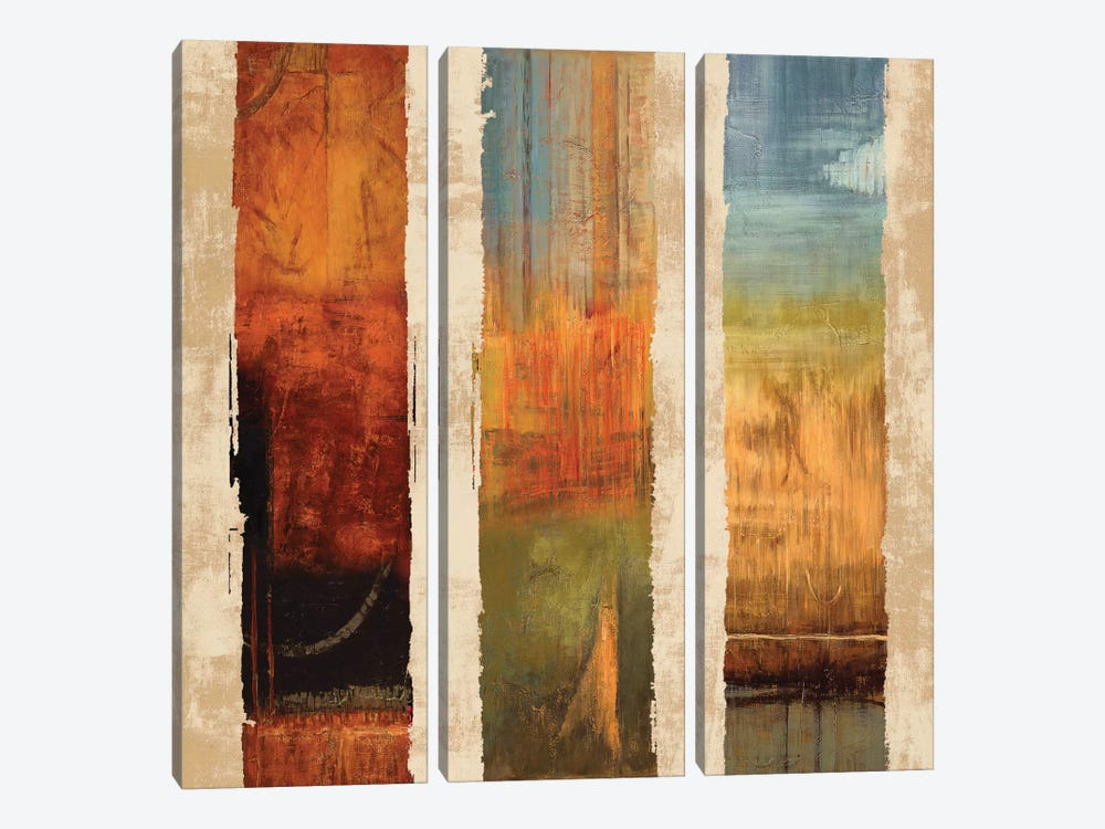 Perpetual I by Kurt Morrison 3-piece Canvas Artwork