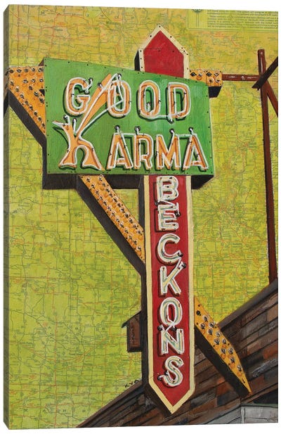 Good Karma Canvas Art Print