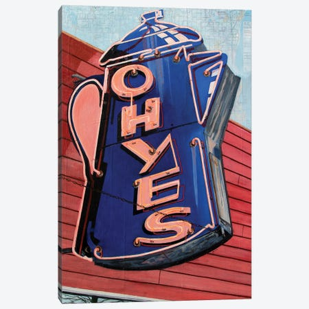 Oh, Yes Canvas Print #KVA19} by Krista V. Allenstein Canvas Art Print