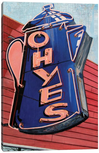 Oh, Yes Canvas Art Print