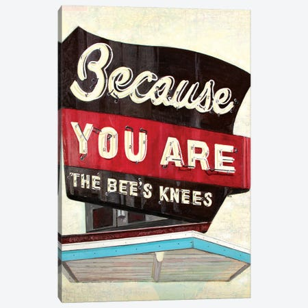 Because You Are Canvas Print #KVA1} by Krista V. Allenstein Canvas Art Print