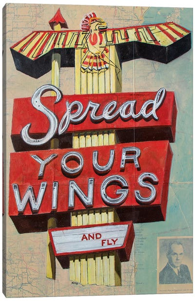 Spread Your Wings Canvas Art Print