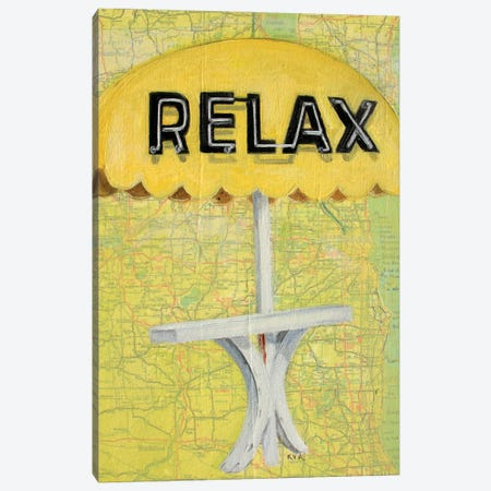 Relax Canvas Print #KVA4} by Krista V. Allenstein Canvas Artwork