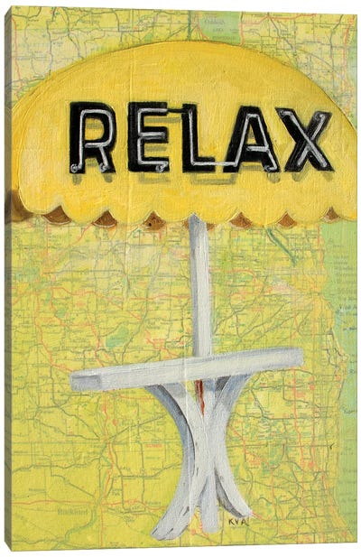Relax Canvas Art Print