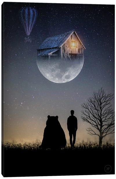 New Moon Canvas Art Print