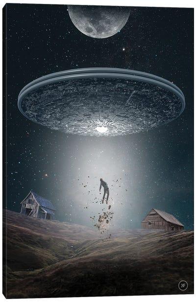 Alien Canvas Art Print
