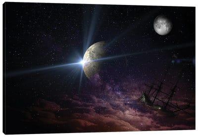 Space Universe Canvas Art Print